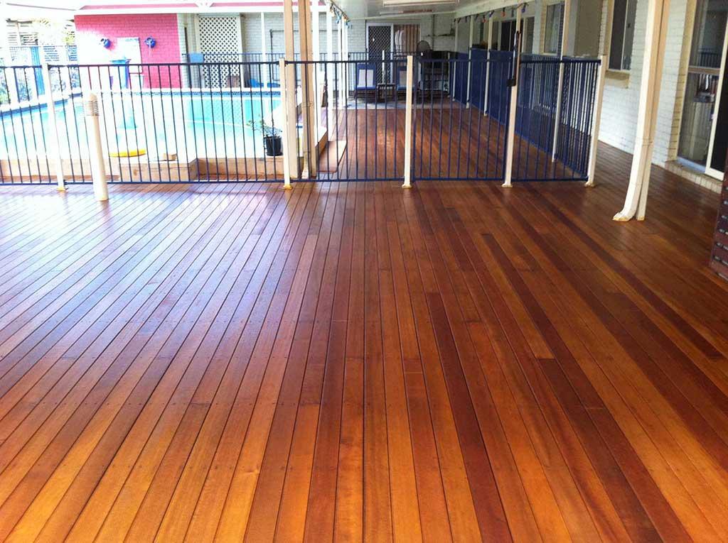 Outdoor Timber Decking Design Brisbane