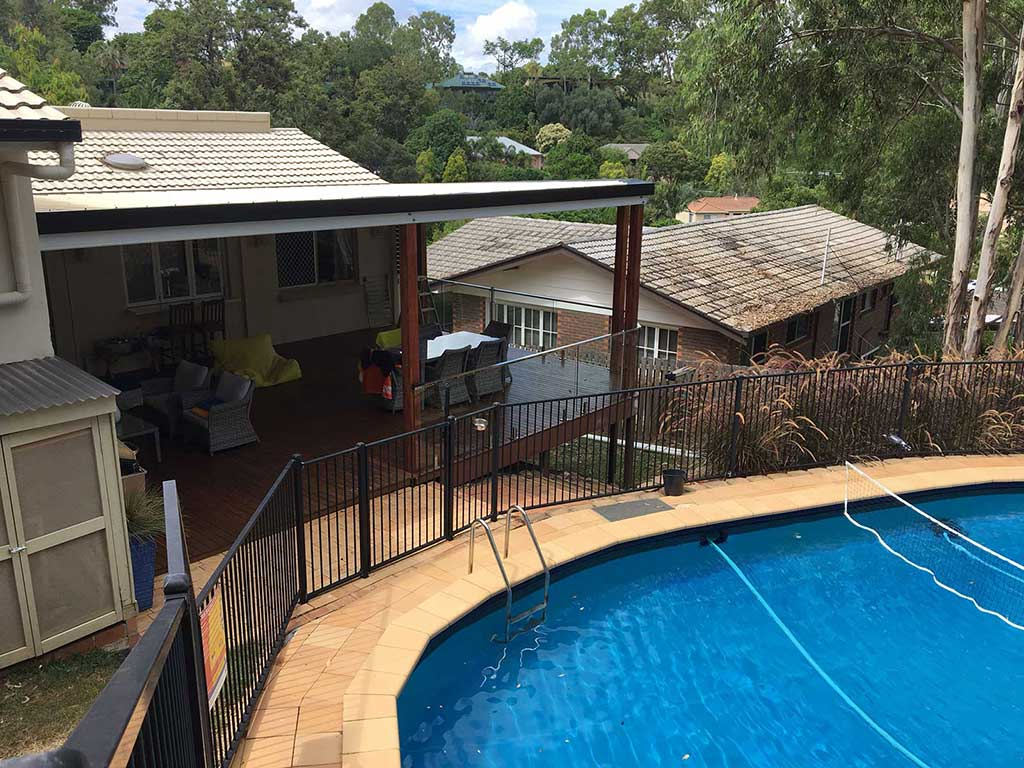 Flyover Deck with Pool