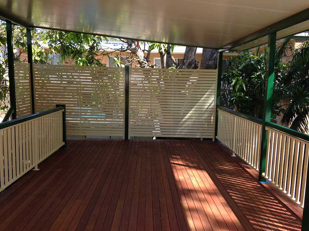 Brisbane timber deck
