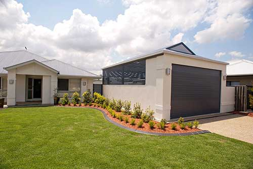 Creamy Dutch Gable Design Brisbane