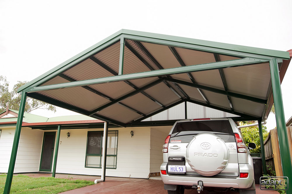 Small Hip Roof Carport Brisbane