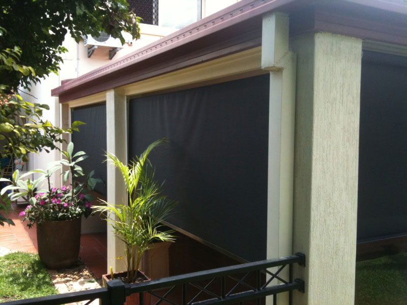 Outdoor Blind Enclosures