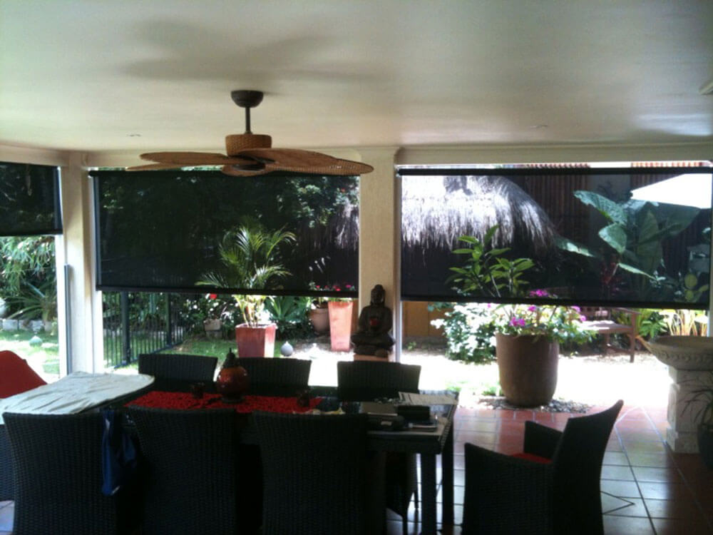 Roller Blind Enclosure Patio