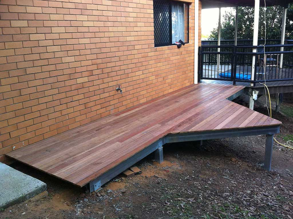 Ground Level Decking Outdoor