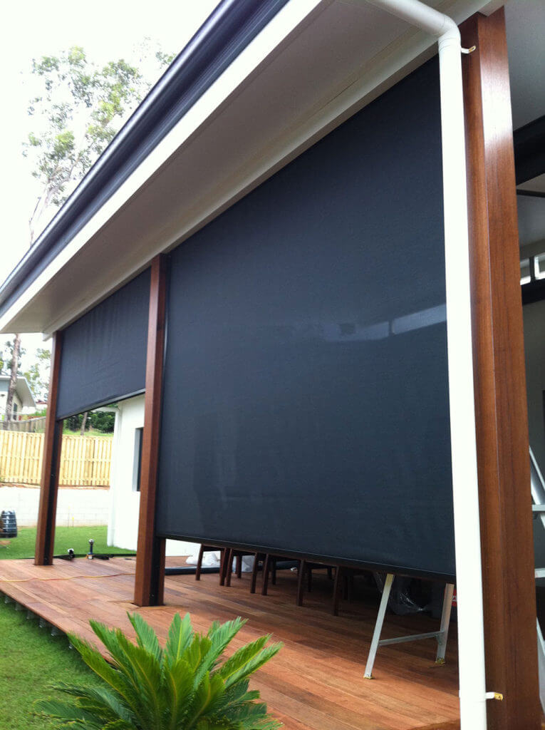 Patio Roller Screens Brisbane