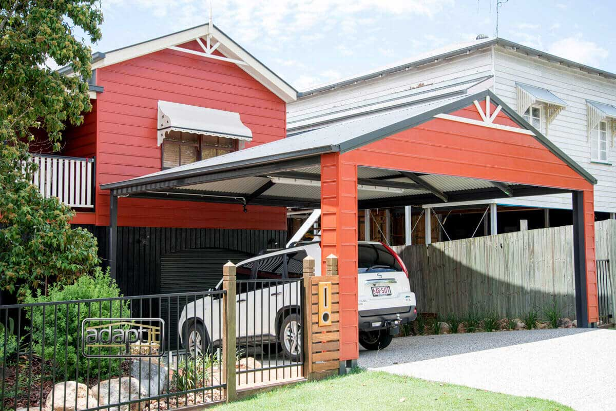 Brisbane Carports Gable Roof