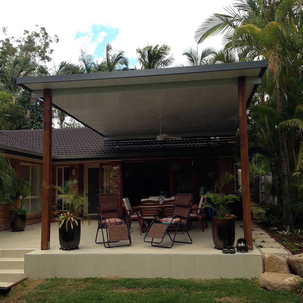 Riser Patio Bracket System Brisbane
