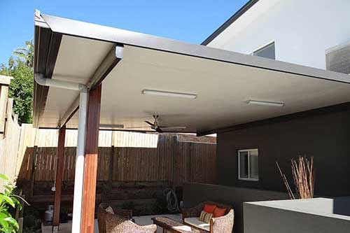 Insulated Flat Roof Patios