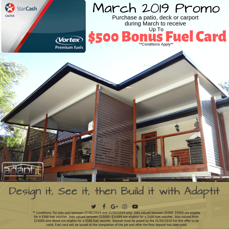 $500 Bonus Fuel Card March 2019 Promotion Image